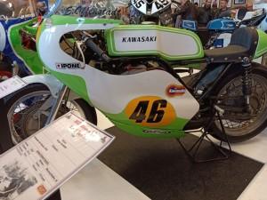 Salon moto de compétition à Chevilly (45). Février 2020.